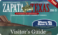 Zapata Texas Visitors Guide