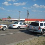 Zapata, Texas - Pep Rally at McDonalds
